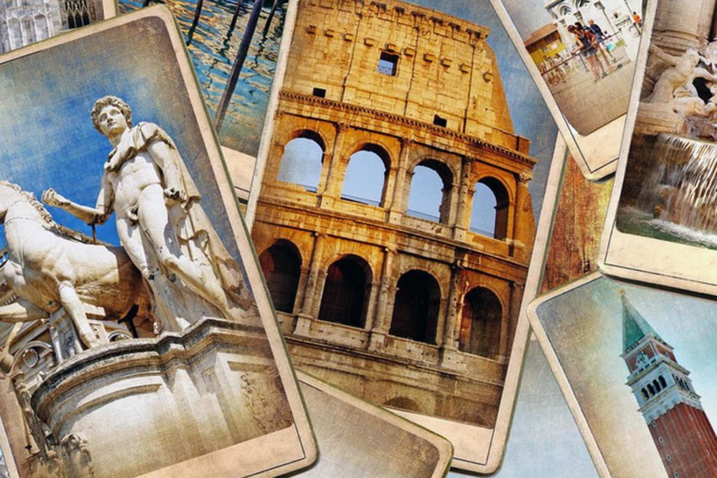Cartoline delle bellezze d'Italia