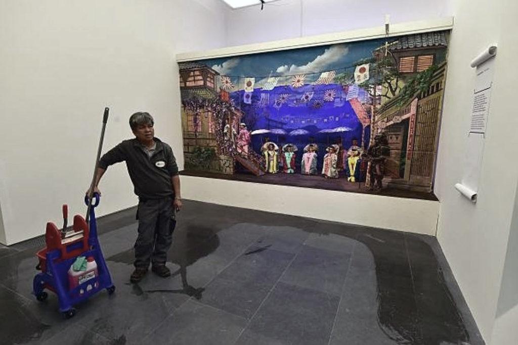 Custode nei musei