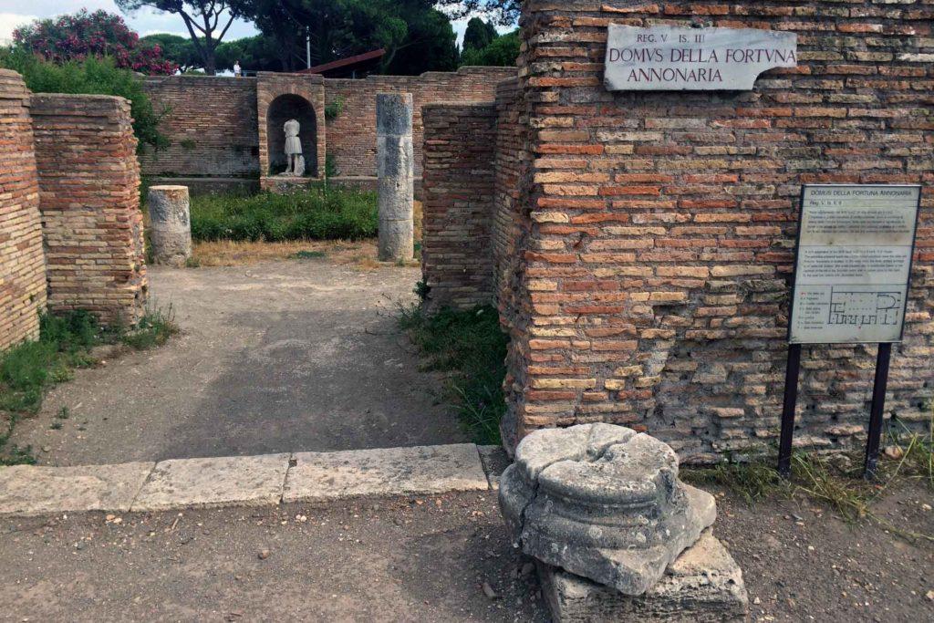 Visitare Ostia antica