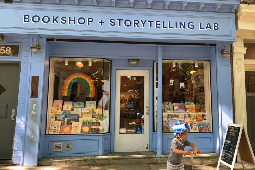 Bookshop & storytelling